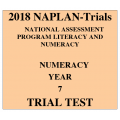 2018 Kilbaha NAPLAN Trial Test Year 7 - Numeracy - Hard Copy
