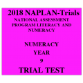 2018 Kilbaha NAPLAN Trial Test Year 9 - Numeracy - Hard Copy