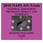 2018 Kilbaha NAPLAN Trial Test Year 9 - Reading - Hard Copy