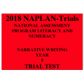 2018 Kilbaha NAPLAN Trial Test Year 5 - Writing - Hard Copy