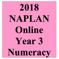2018 Kilbaha Interactive NAPLAN Trial Test Numeracy Year 3
