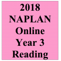 2018 Kilbaha Interactive NAPLAN Trial Test Reading Year 3