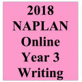 2018 Kilbaha Interactive NAPLAN Trial Test Writing Year 3
