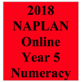 2018 Kilbaha Interactive NAPLAN Trial Test Numeracy Year 5