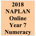 2018 Kilbaha Interactive NAPLAN Trial Test Numeracy Year 7