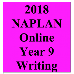 2018 Kilbaha Interactive NAPLAN Trial Test Writing Year 9