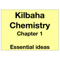 Chemistry Chapter 1 - Essential Ideas