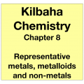 Chemistry Chapter 8 - Representative Metals, Metalloids and Non-metals
