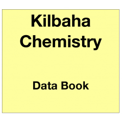 Chemistry Chapter Data Book