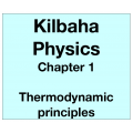 Physics Chapter 1 - Thermodynamic principles