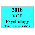 2018 Kilbaha VCE Psychology Trial Examination