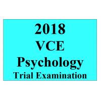 2018 Kilbaha VCE Psychology Trial Examination