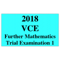 2018 Kilbaha VCE Further Maths Trial Examination 1