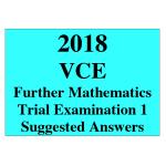 2018 Kilbaha VCE Further Maths Trial Examination 1