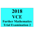 2018 Kilbaha VCE Further Maths Trial Examination 2