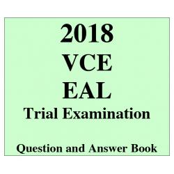 2018 Kilbaha VCE EAL Trial Examination