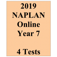2019 Package NAPLAN Interactive Year 7