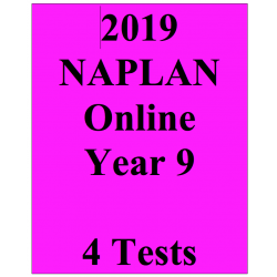 2019 Package NAPLAN Interactive Year 9