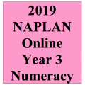 2019 Kilbaha Interactive NAPLAN Trial Test Numeracy Year 3