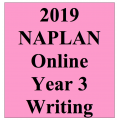 2019 Kilbaha Interactive NAPLAN Trial Test Writing Year 3