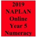 2019 Kilbaha Interactive NAPLAN Trial Test Numeracy Year 5