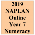 2019 Kilbaha Interactive NAPLAN Trial Test Numeracy Year 7