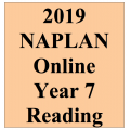 2019 Kilbaha Interactive NAPLAN Trial Test Reading Year 7