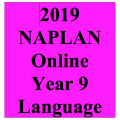 2019 Kilbaha Interactive NAPLAN Trial Test Language Year 9