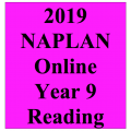 2019 Kilbaha Interactive NAPLAN Trial Test Reading Year 9