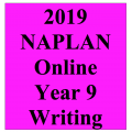 2019 Kilbaha Interactive NAPLAN Trial Test Writing Year 9