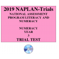 2019 Kilbaha NAPLAN Trial Test Year 3 - Numeracy - Hard Copy