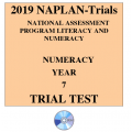 2019 Kilbaha NAPLAN Trial Test Year 7 - Numeracy - Hard Copy