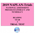 2019 Kilbaha NAPLAN Trial Test Year 3 - Reading - Hard Copy