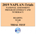 2019 Kilbaha NAPLAN Trial Test Year 7 - Reading - Hard Copy