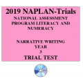2019 Kilbaha NAPLAN Trial Test Year 3 - Writing - Hard Copy