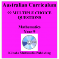 99 Mathematics Multiple-Choice Questions for Year 9 : Australian Curriculum