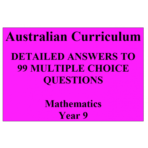 mathematics multiple choice questions with answers pdf