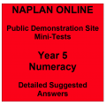 NAPLAN Online MiniTest Answers Numeracy Year 5