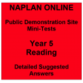 NAPLAN Online MiniTest Answers Reading Year 5