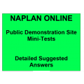 NAPLAN Online - Detailed Answers