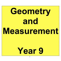 Interactive Mathematics - Geometry and Measurement - Year 9