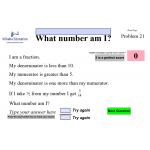 Interactive Maths 1 - What Number Am I