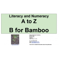Literacy and Numeracy - A to Z  Bamboo