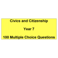 Multiple choice questions - Civics and Citizenship Year 7