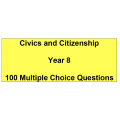 Multiple choice questions - Civics and Citizenship Year 8