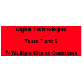 Multiple choice questions - Digital Technologies Years 7 and 8