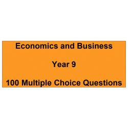 Economics/Business Year 9