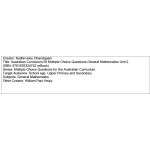 Multiple choice questions - General Mathematics Unit 2