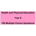 Multiple choice questions - Health and Physical Education Year 9