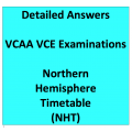 Detailed Answers to VCAA VCE Examinations Northern Hemisphere Timetable